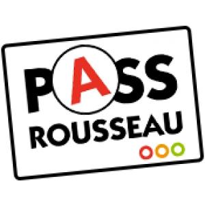 Code en ligne 1 Mois 30€ (Pass Rousseau)